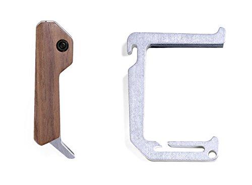 DANGO PRODUCTS Tumbled Aluminum Loop Hook with