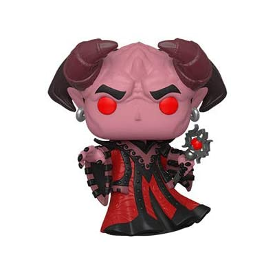 Funko Pop! Bundle of 3: Dungeons & Dragons - Asmodeus, Mind Flayer and Minsc & Boo: Toys & Games