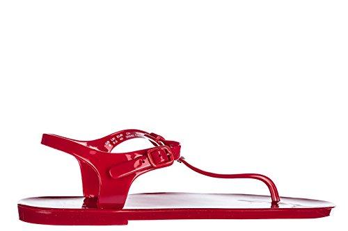 Emporio Armani EA7 Sandalias Mujer Nuevo 2000 Core Active Rojo