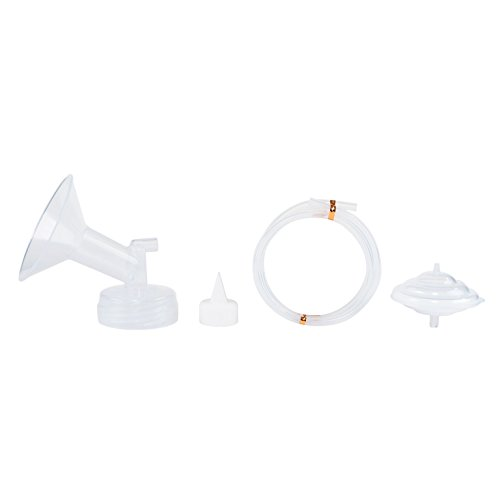 Spectra Baby USA - Authentic Breast Flange Set, Wide Neck Breastshield Set - (Large / 28mm) - Replacement Parts for 9 Plus, S2, S1, M1 Breast Pumps, BPA/DEHP Free