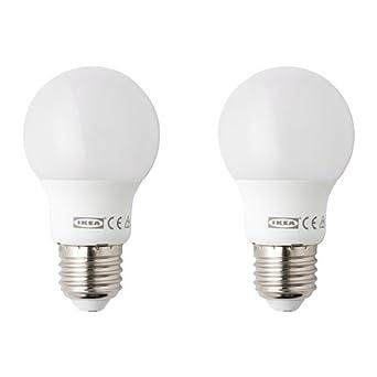 Ikea LED de 2 unidades, lámpara LED ryet doble Pack de Leuchten – mate