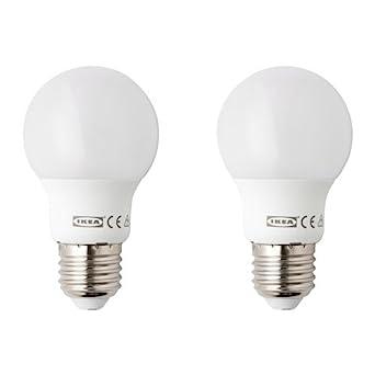 b72cc370861a IKEA 2-er Set LED-Lampe