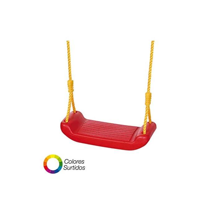 Asiento completo para balancin Incluye cuerda Peso máximo soportado: 35 kg.