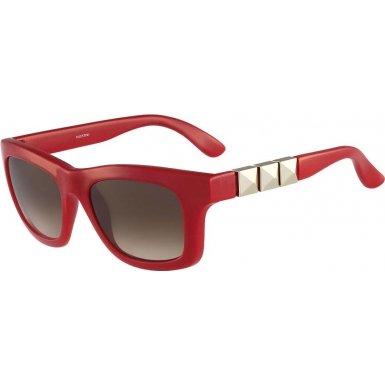 Valentino V691S 613 Red Square Valentino - Valentino Sunglasses Red
