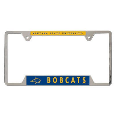 WinCraft NCAA Montana State Metal License Plate Frame