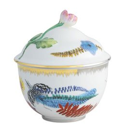 Vista Alegre Christian Lacroix Caribe Sugar Bowl by Vista Alegre