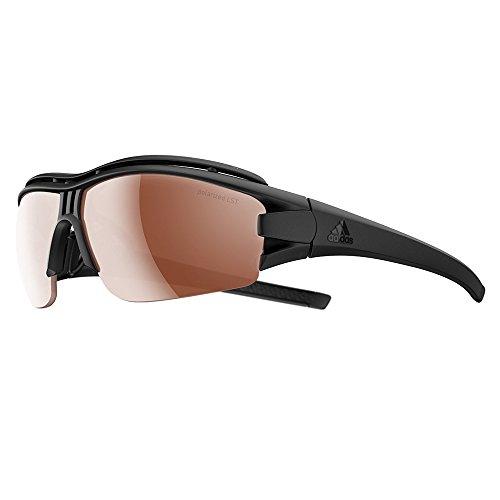 adidas Evil Eye Halfrim Pro L Sunglasses 2018 Black Matte LST ()