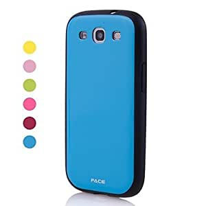 xiao Solid Color TPU Soft Case for Samsung Galaxy S3 I9300 , Green