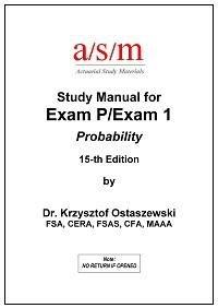 asm soa study manual for exam p 15th edition krzysztof ostaszewski rh amazon com Ritter Exam Table Manual Ritter Exam Table Manual