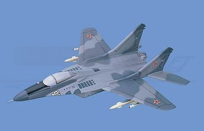 MiG-29  Fulcrum - former Soviet Union Aircraft Model Mahogany Display Model / Toy. Scale: 1/45