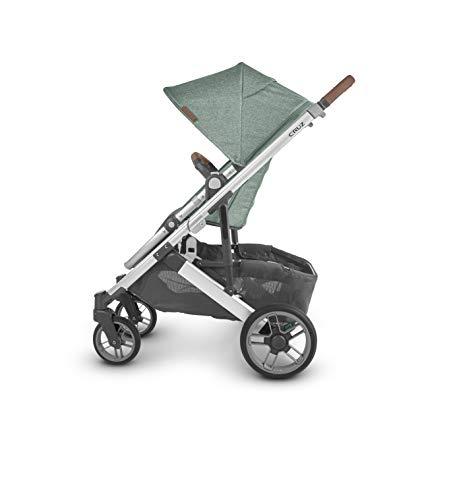 311Gvc9ftQL - UPPAbaby Cruz V2 Stroller - Emmett (Green Melange/Silver/Saddle Leather)