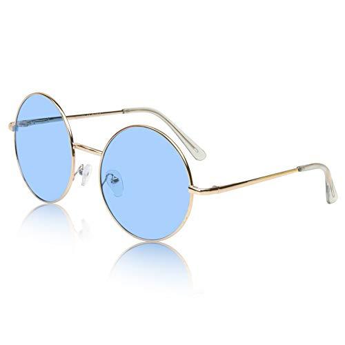 Sunny Pro Colorful Hippie Trendy Sunglasses Style Eyeglasses For Women Men ()