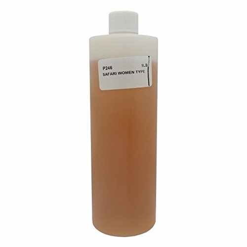 16 oz - Bargz Perfume - Safari Body Oil For Women Scented...