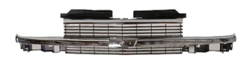 OE Replacement Chevrolet S10 Pickup/S10 Blazer Driver Side Grille Assembly (Partslink Number GM1200397)