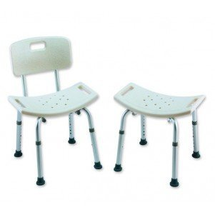 Careguard Shower Chair W/Ba INVACARE CORPORATION INV962 MMED-INV962 Each