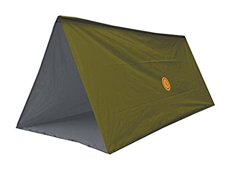 UST Tube Tarp and C&ing Shelter with Compact Multifunctional Use and Reversible and Flame Retardant Construction for Emergency Hiking C&ing ...  sc 1 st  Amazon.com & Amazon.com : UST Tube Tarp and Camping Shelter Green : Sports ...