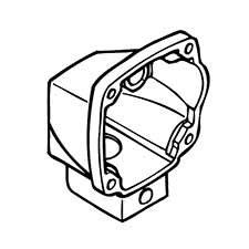 Hitachi 998033 Gear Cover CN16 CN16SA Replacement Part