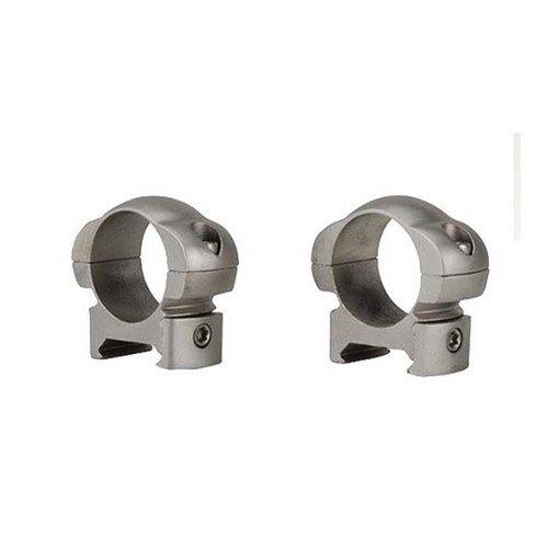 "Weaver 49321 Grand Slam Steel Rings, 1"", Medium, Silver"