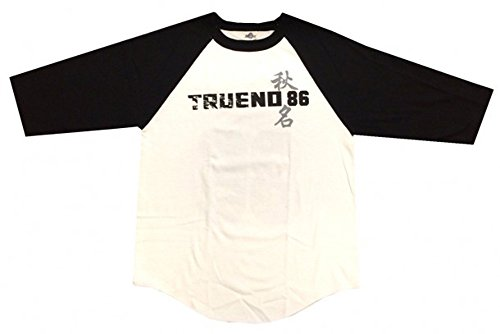 Kodansha Fujiwara Initial D Men White T-shirt (Size Medium) (Initial D T Shirt)
