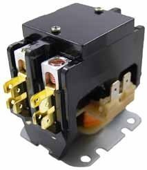Packard C225A 2 Pole 25 Amp Contactor 24 Volt Coil Contactor by Packard