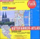 Falk Autofahrer Atlas Rheinland