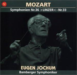 モーツァルト:交響曲第36番「リンツ」&第33番