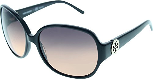Tory Burch Sunglasses TY7026 501/95 Black/Grey Orange Fade - Five Nine Sunglasses