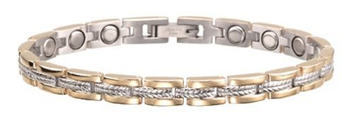 Sabona Lady Executive Regal Duet Magnetic Bracelet - Medium by Sabona