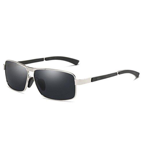 soleil ovale lunettes de A Verres Mens de lentille polarized xFtwSP