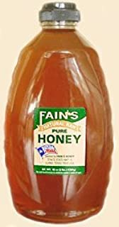 product image for Fain's Natural Raw Honey 32oz Bottle (Llano, TX)