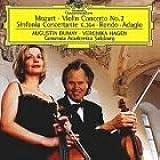 Mozart: Violinkonzert 2, Sinfonia Concertante, Rondo, Adagio