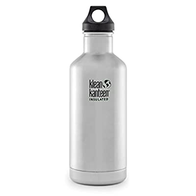 Klean Kanteen Classic Insulated Stainless Steel Bottle With Loop Cap