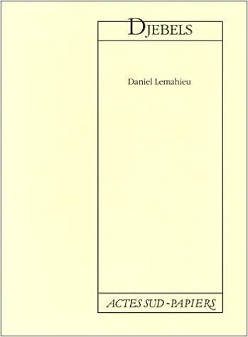 Livre Djebels pdf ebook