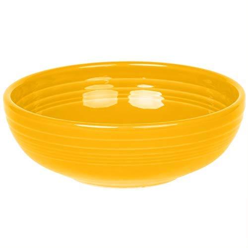 Homer Laughlin 1458-342 Fiesta Medium 38 oz Bistro Bowl, Daffodil ()