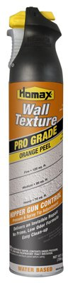 Homax Products/Ppg 4592 Orange Peel Wall Texture Spray Paint with Dual Control, Water Based, 25-oz. - Quantity 1