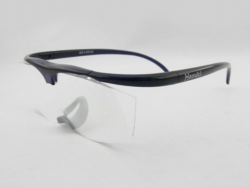 AG Hazuki Hazukirupe magnifying glass 2.5D [frame type] pair loupe glasses type Star Violet (japan import) by AG Hazuki