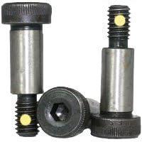 Shoulder Bolt-Shoulder Screws Nylon Pellet -Socket Head Thread: 1//4-20 Shoulder Length: 1-3//4 Thermal Black Oxide Finish Nylon Pellet Shoulder Diameter: 5//16 Alloy Steel Quantity: 25