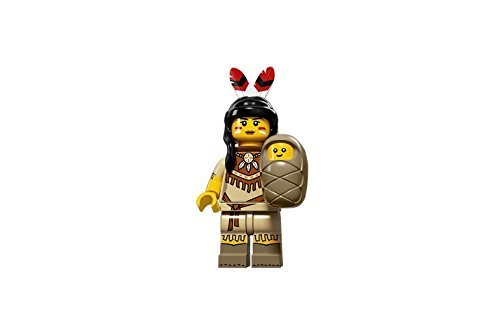 LEGO Series 15 Collectible Minifigure 71011 - Tribal Woman with (Lego City Mini Figure)
