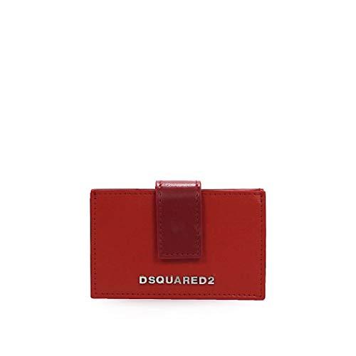 Women's Accessories Dsquared2 Bicolor Accordion Card Holder FW 19-20
