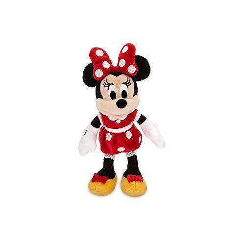 - Disney Minnie Mouse Plush - Red - Mini Bean Bag - 9 1/2 Inch Multi