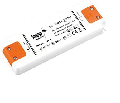 1/sortie mod/èle SNP8-12VL-2 0,67/amp/ères 24/V tension constante CC 8/W code 2331 Kingled Snappy/Alimentation LED ultra mince transformateur de 220/V CA /à 12/V CC pour /éclairage LED