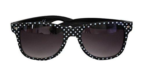 arrondi de FG111 blanc bras lentilles Protection SPVL15725 CAT Rectangle noir Dots plein Polks Foster soleil 100 et et Grant plastique cadre UV noir UV400 cadre femmes des Gradient lunettes en 2 q6IEq8w