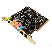 Ultron 8035 PCI Soundkarte OctoSound 7.1 Surround Sound intern mit 8 Kanälen retail