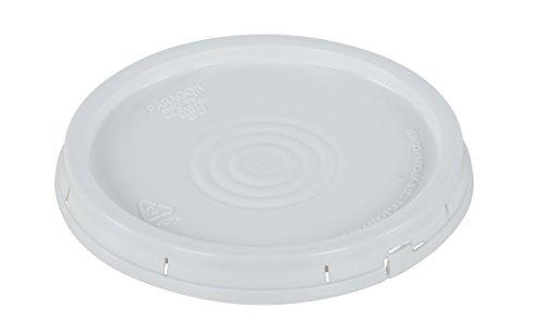 Vestil LID-54-PWT High Density Polyethylene Tear-Tab Lid For 3.5, 5 and 6 Gallon Pail, (Tear Tab Lid)