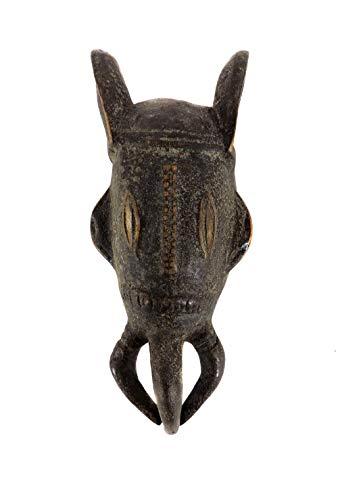 (Baule Passport Mask Ivory Coast African Art)