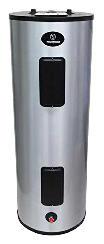 Westinghouse 40 Gal. 4500W Lifetime Warranty Electric Water Heater with durable 316L Stainless Steel Tank