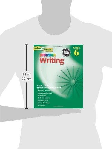 Amazon.com: Writing, Grade 6 (Spectrum) (9780769652863): Spectrum ...
