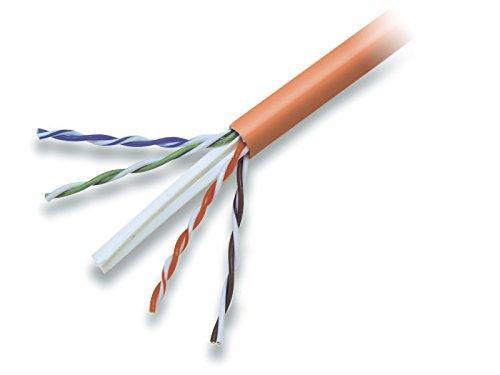 Belkin CAT6 1000-Foot Solid Bulk Cable (Orange) by Belkin