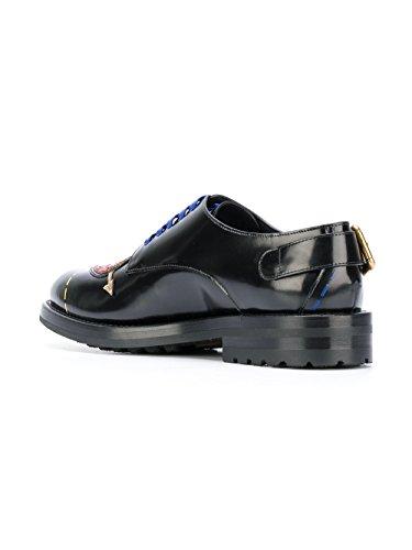 Donna Nero CN0037AI522HNF57 Stringate E Dolce Gabbana Pelle OWqYWt