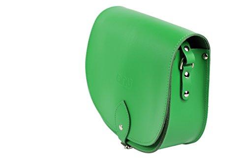 ANU®, Borsa a secchiello donna small Flourescent Green